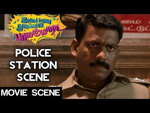 Idharkuthane Aasaipattai Balakumara - Police Station Scene | Vijay Sethupathi | Ashwin | Gokul