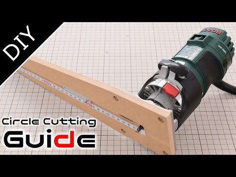 DIYルーター用のサークルカット冶具を作ってみた: Circle Cutting Jig for Your Router自作工房