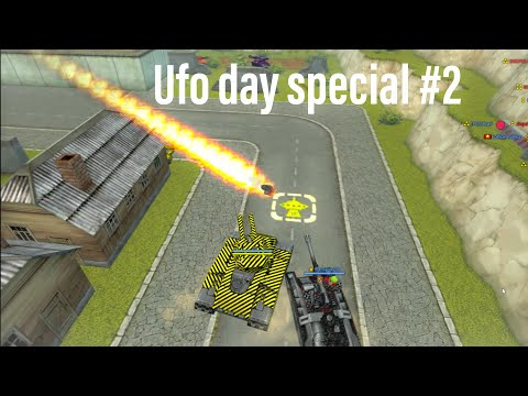 Tanki Online Gold Box Video #90 - Ufo Day 2020