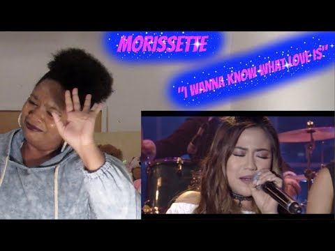 *DAY 17*- Morissette- I Want To Know What Love Is Reaction MYX