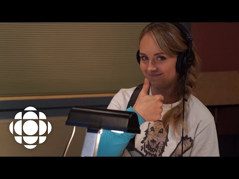 In the ADR studio with Heartland's Amber Marshall | Heartland | CBC