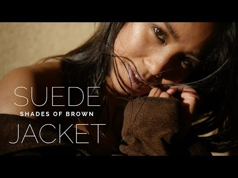 Suede Brown Jacket- Soaking the Sun- Summer Time