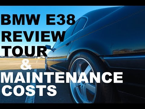 BMW E38 IN DEPTH Tour, Review, and Maintenance Costs