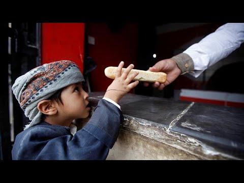 85 mil crianças morrem à fome no Iémen