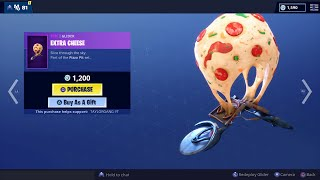 Fortnite Item Shop TomatoHead n Extra Cheese Glider | Gifted skin to Eli James | Gifting Subscribers