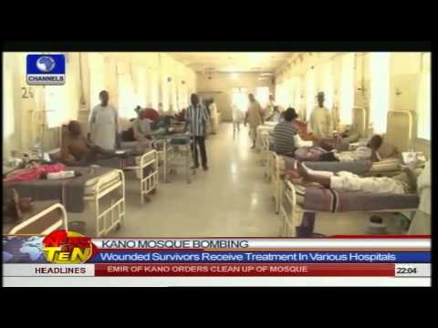 News@10: Borno Violence: Suspected Sect Members Attack Shani Town 30/11/14 Prt1