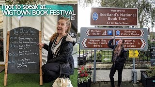 I got to speak at the WIGTOWN BOOK FESTIVAL | Scotland's National Book Town
