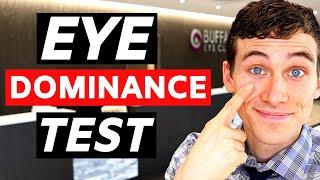 Eye Dominance Test - H๐w to Determine Eye Dominance
