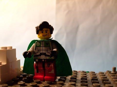 Super Duper Man - A LEGO Stop-Motion Film