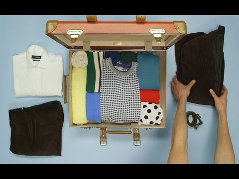 How To Pack A Suit When Travelling | Packing Hacks