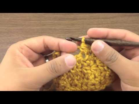How to Crochet the Half Double Crochet Two Together Decrease (hdc2tog ...