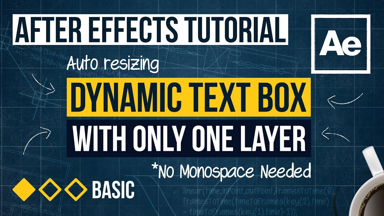 After Effects Tutorial - Dynamic Text Box
