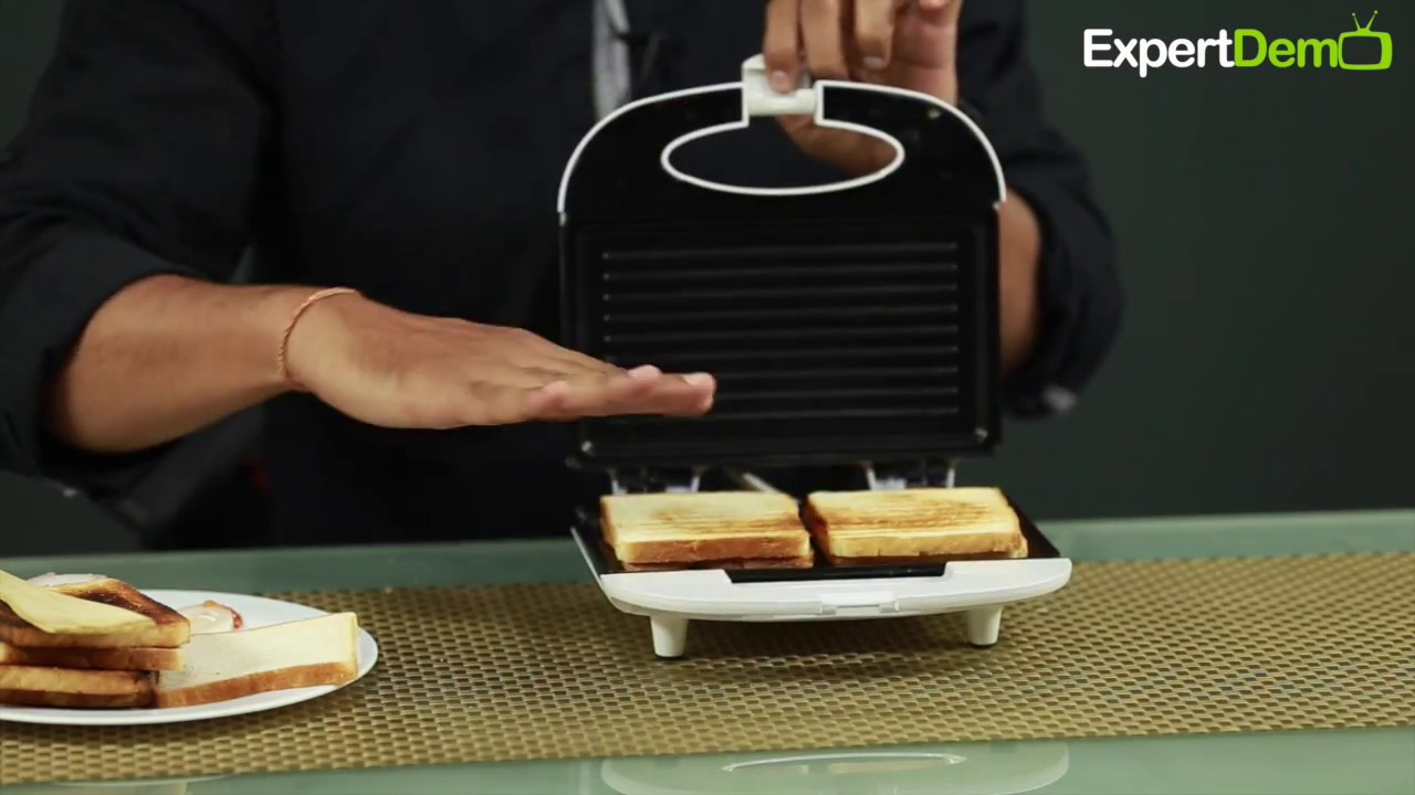 Grill Sandwich Maker For Daily Breakfast Needs And Quick Snacks Youtube