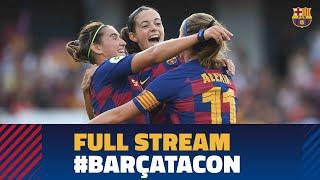 [PARTIDO COMPLETO] Barça Femení 9 - 1 CD Tacon
