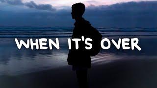 Anson Seabra - When It's Over (Lyrics)