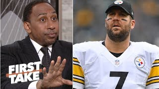 Steelers' GM is flat-out lying about no drama in the locker room – Stephen A. | First Take