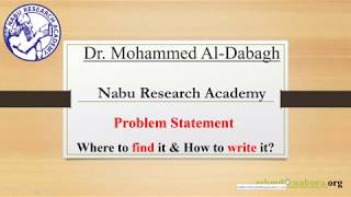 "Problem Statement, Where to Find it & How to Write it? Tips ""5"""