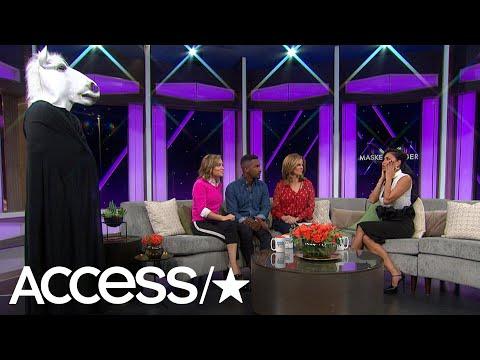 Nick Lachey Shocks Nicole Scherzinger As He Dressed Up As A 'Masked Singer'! | Access
