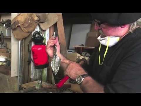 How To: Making Metal Leaves Video 2-BillyDillardArt