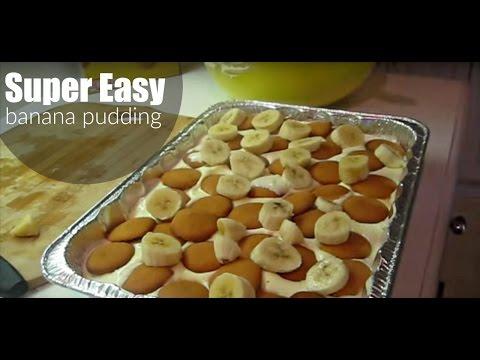 Super Easy Banana Pudding | Ericka B