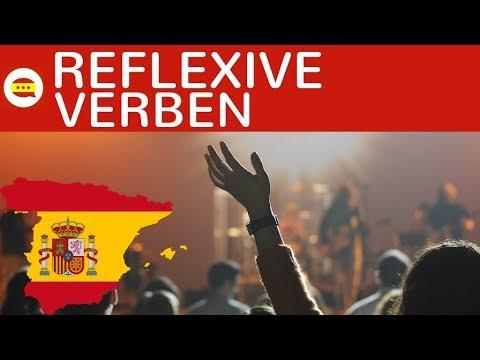 Reflexive Verben konjugieren in Spanisch im Präsens (El presente ...