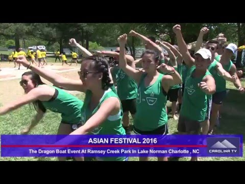 ASIAN FESTIVAL 2016 AT RAMSEY CREEK PARK IN LAKE NORMAN NC