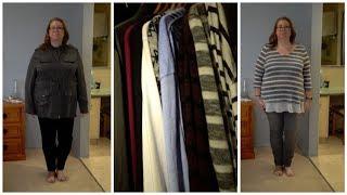 Plus size Autumn/Winter Minimalist Wardrobe (& try on)