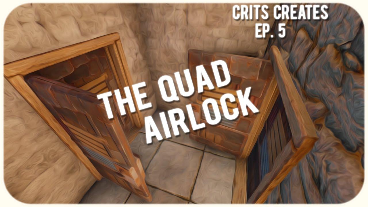 Best Sheet Metal Door Base Quad Airlock 9k Stone