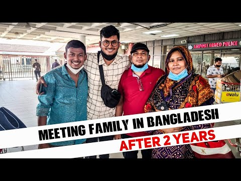 Met my family after 2 years || Emotional Canada to Bangladesh Journey