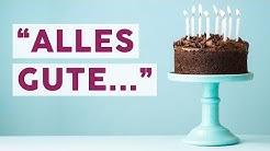 Sprüche und Glückwünsche zum Geburtstag 🎈🎂| HAPPY BIRTHDAY