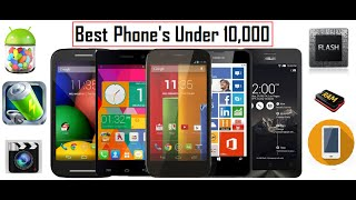 Best Android/Windows Phone Under 10,000 (Budget + Style + Feature