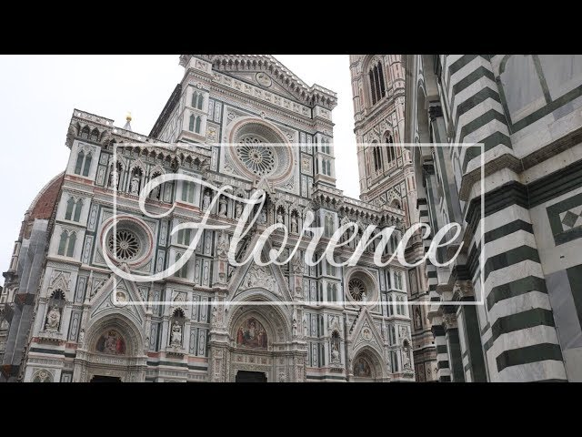 FLORENCE IN ONE MINUTE - CINEMATIC TRAVEL VIDEO 2019