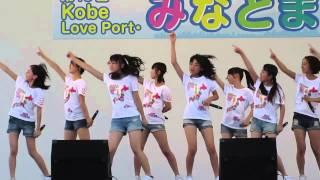akb48 team8 神戸イベント 7/20 第13回 Kobe Love Port みなとまつり メ...