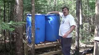 The Woodpecker Ep 12 Water Barrel Stand