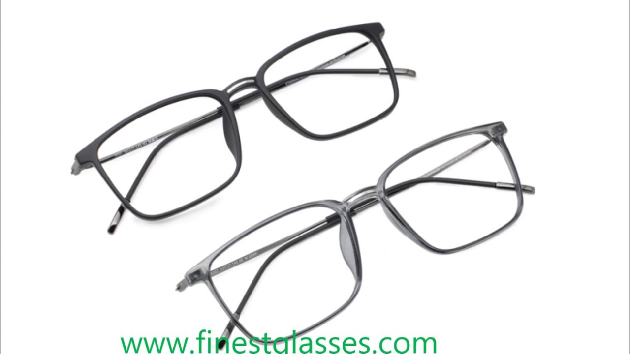 affordable eyeglasses frames at finestglasses.com - YouTube