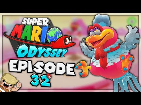 """KAMPF GEGEN DEN FETTEN VOGEL! 🦅"" | Super Mario Odyssey #32 | Rippelz"