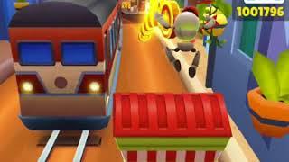 играю в популярную игру  Subway Surfers  Прошла всю игру и выполнила все миссии