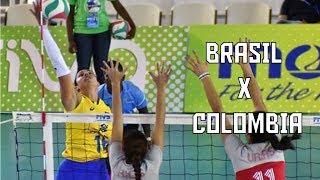 Brasil x Colômbia | Melhores Momentos | Copa Pan-Americana