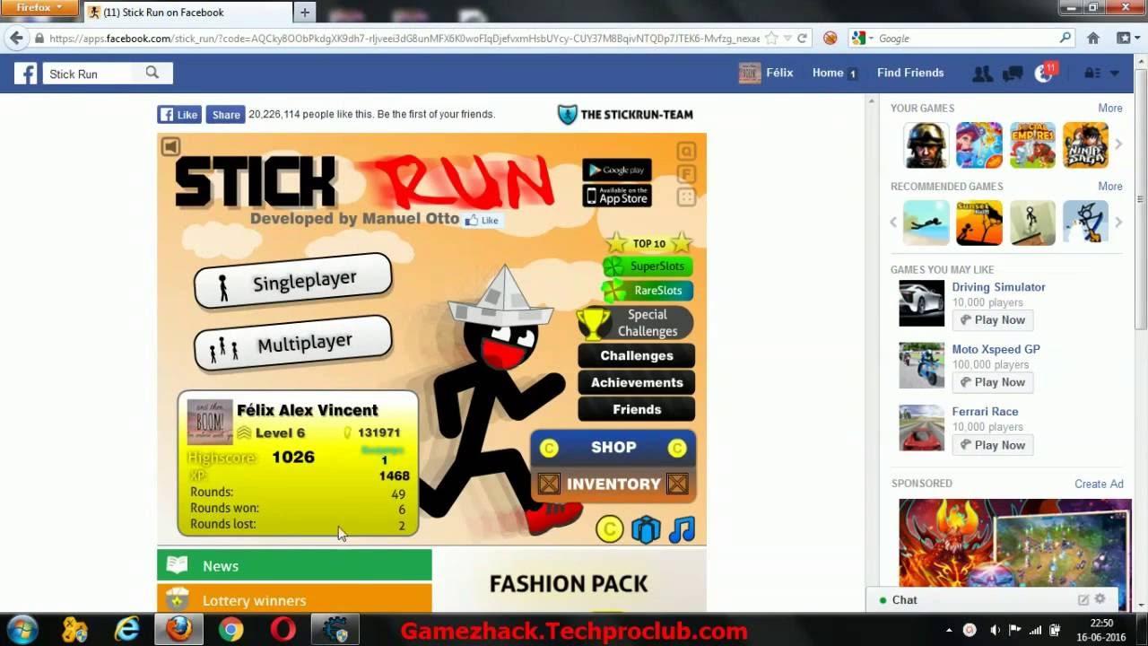 stick run kokohack hack 2017