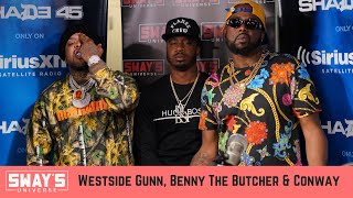 Griselda Records Takeover: Westside Gunn, Conway & Benny the Butcher Freestyle & Interview