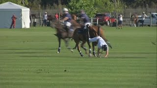 Prince Harry Falls Off His Horse, Twice
