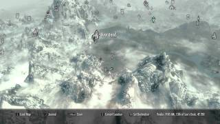 All The Dragon Crater Locations In Skyrim! How To Find Dragons In Skyrim!