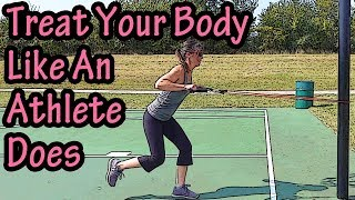Treat Your Body Like You Are An Athlete - How Work Effects Your Body - Take Care Of Your Body