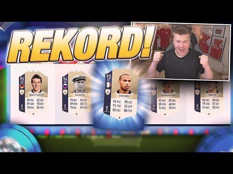 🔥REKORD POLSKI!!! REKORD IKON W DRAFCIE!🔥 FIFA 18 WORLD CUP
