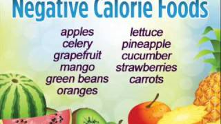 Negative Calorie Foods: #1 Diet Secret