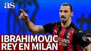 Ibrahimovic se convierte en el rey del derbi en Milán | Diario AS