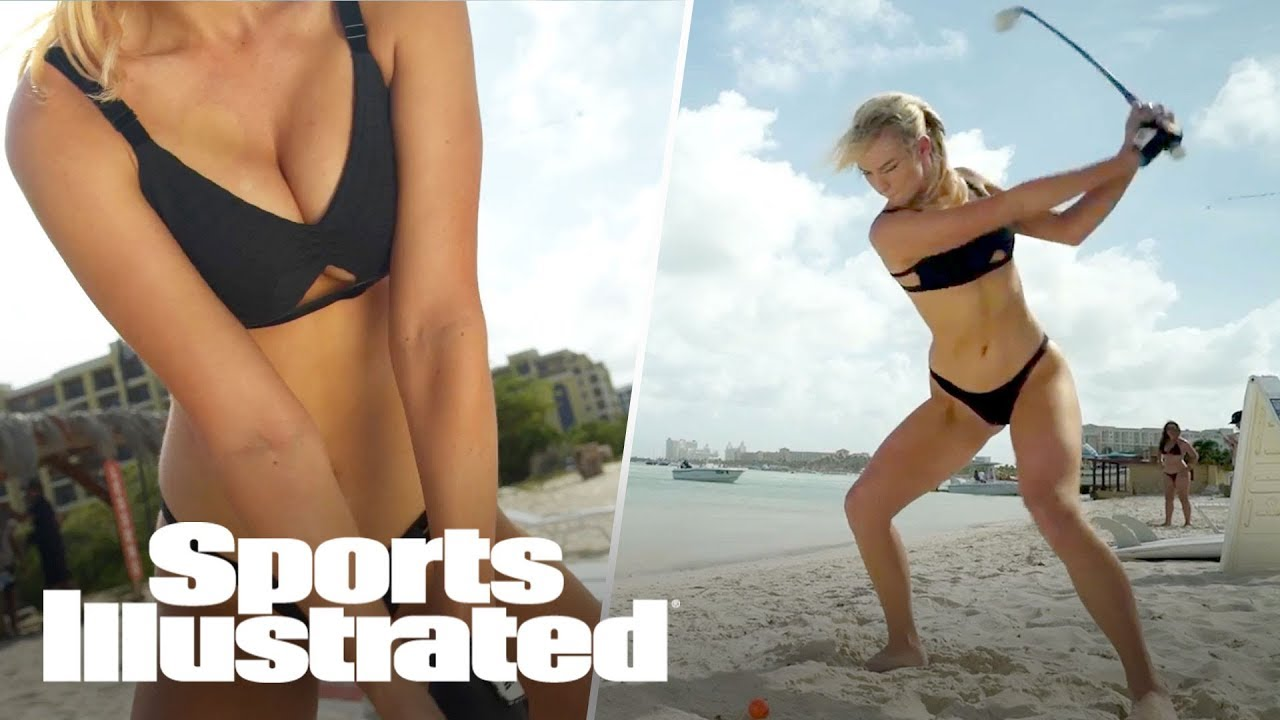 Paige Spiranac Gets A Hole-In-One, Shows Off Her Golf Skills In Aruba   Sports Illustrated
