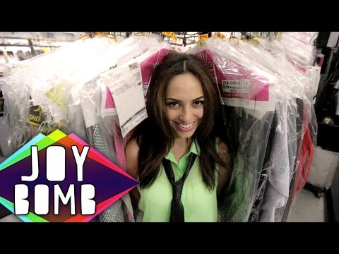 Surprise at the Dry Cleaners | Joy Bomb with Aijia