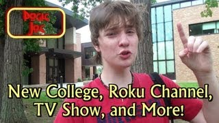 New College, Roku Channel, TV Show, and More!
