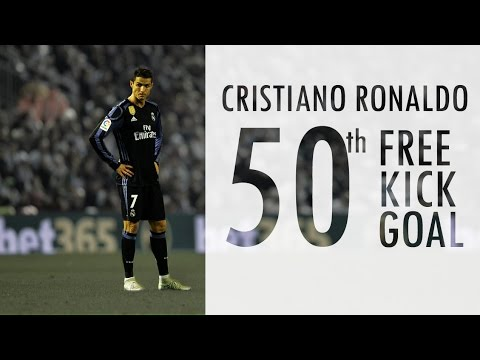 ᴴᴰ Cristiano Ronaldo Free Kick Goal vs Celta - 1/4 Copa Del Rey 2016/17 - 26.01.2017